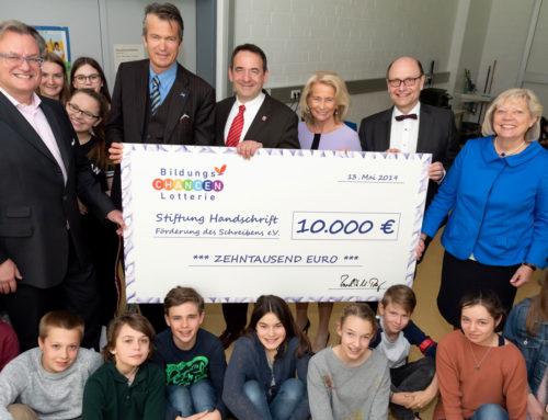 Stiftung Handschrift: Schreibwettbewerbe zur Förderung von Handschrift