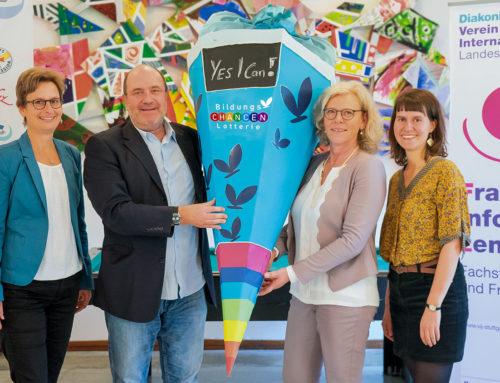 """Vij """"Yes I can"""": Mit Bildung zu mehr Stärke, Selbstbewusstsein und Integration"""