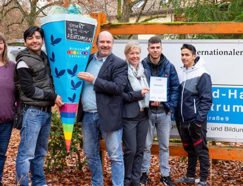 smaRT – digital clever in Reutlingen: Bildungslotterie ermöglicht digitales Lernen
